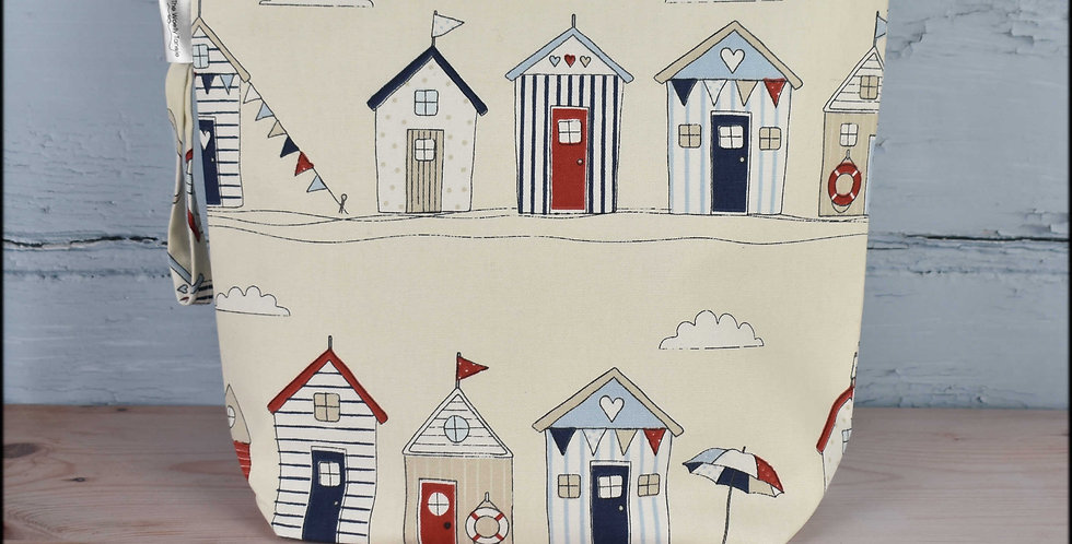 Large project bag - beach huts