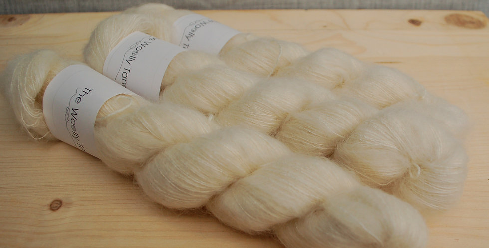 Natural - kildsilk lacewight mohair