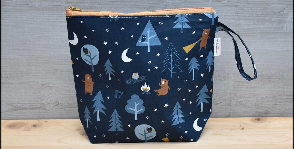 Medium project bag - night-time ramble