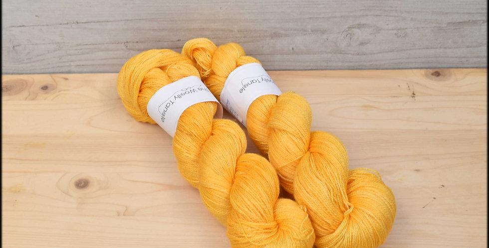 Ranunculous - laceweight merino silk yarn