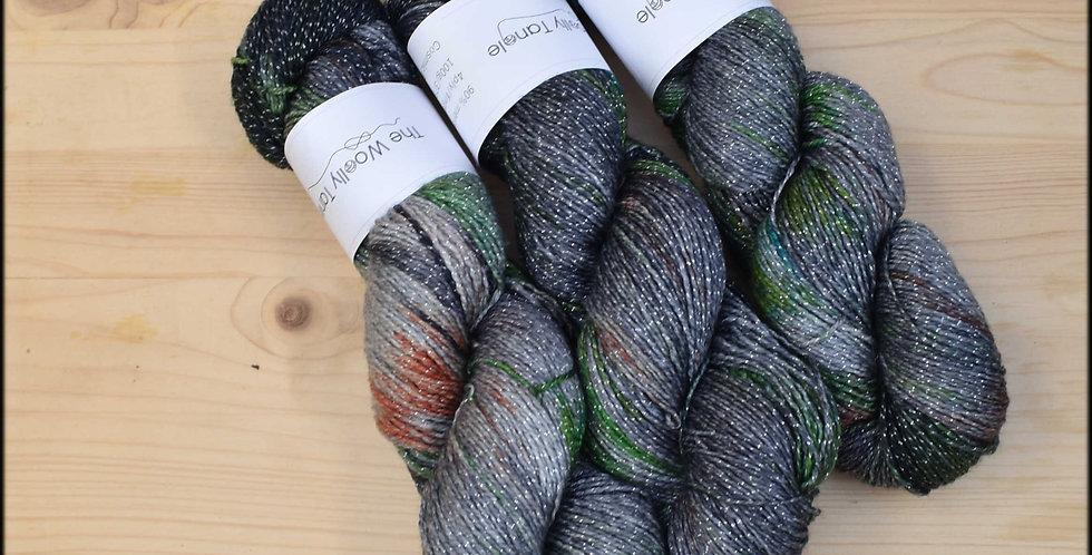 Cosmic - 4ply merino lurex sparkle yarn