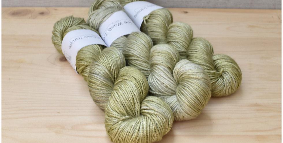 Grassy hollow - DK merino silk yarn