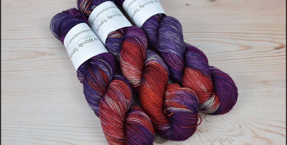 Summer pudding - merino yak silk yarn