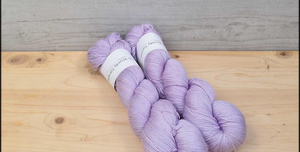 Delphinium - laceweight merino silk yarn