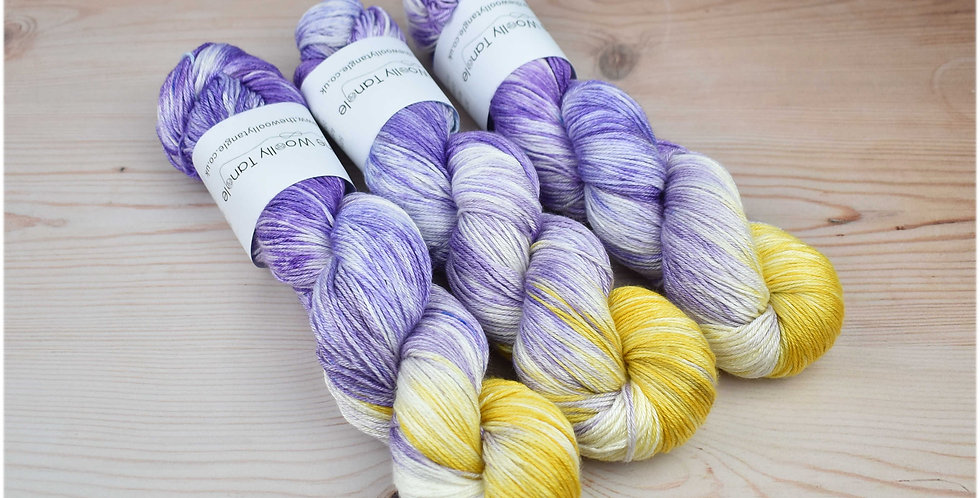 Wisteria - merino silk 4ply