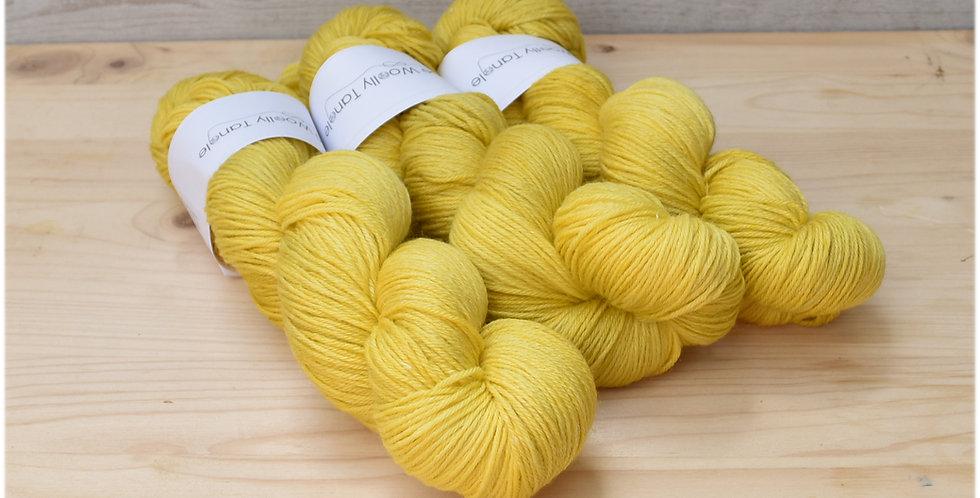 Old gold - 4ply merino bamboo yarn