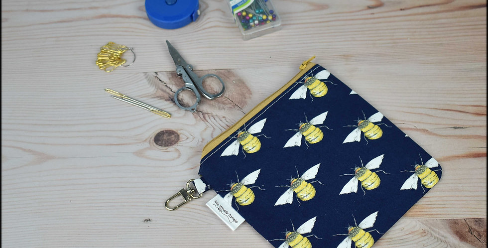 Notions pouch - bees