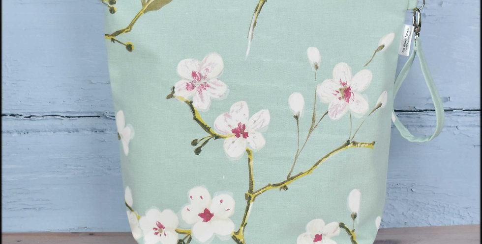Large project bag - apple blossom