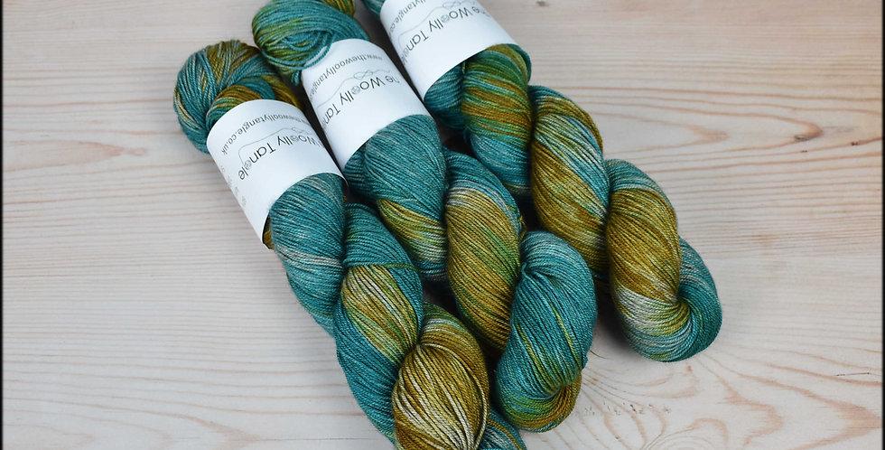 Summer cove - merino yak silk yarn