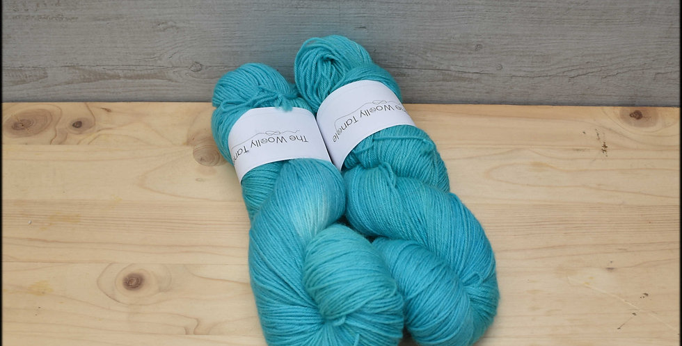 Summer seas - polwarth 4ply