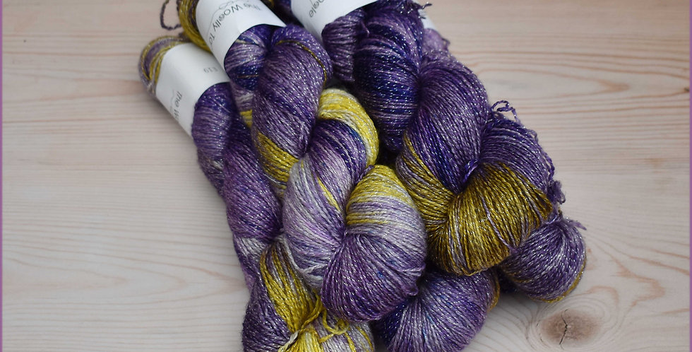 500g Iris - 4ply merino lurex sparkle yarn