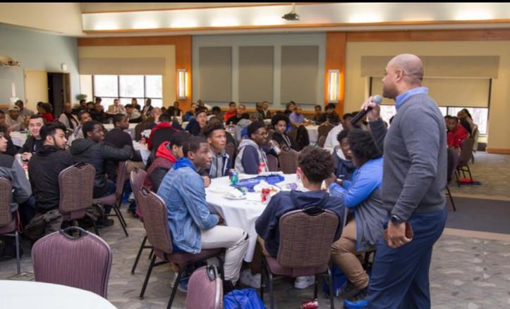 Speaking at the MMI, NJ
