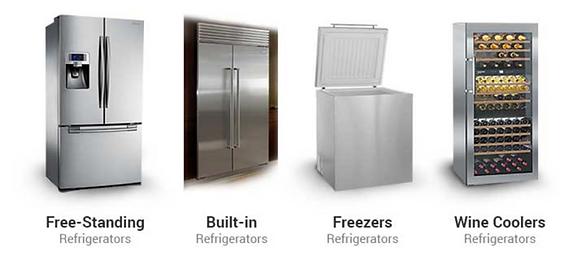 Built-in fridge repair - Freezer Repair - Wine Cooler Repair by Comfort Home Appliance