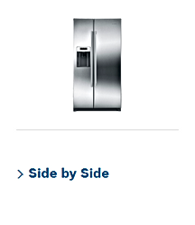 Bosch side by side refrigerator repair service