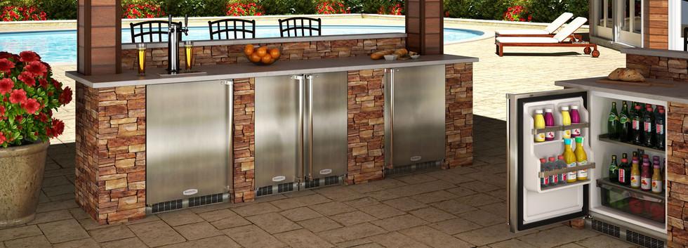 Marvel Outdoor Refrigerator Repair