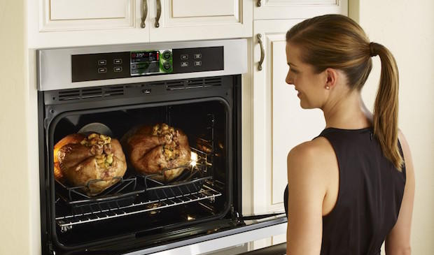 Both conventional and convection ovens.j
