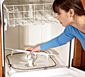 Dishwasher Spray Arm Cleaning