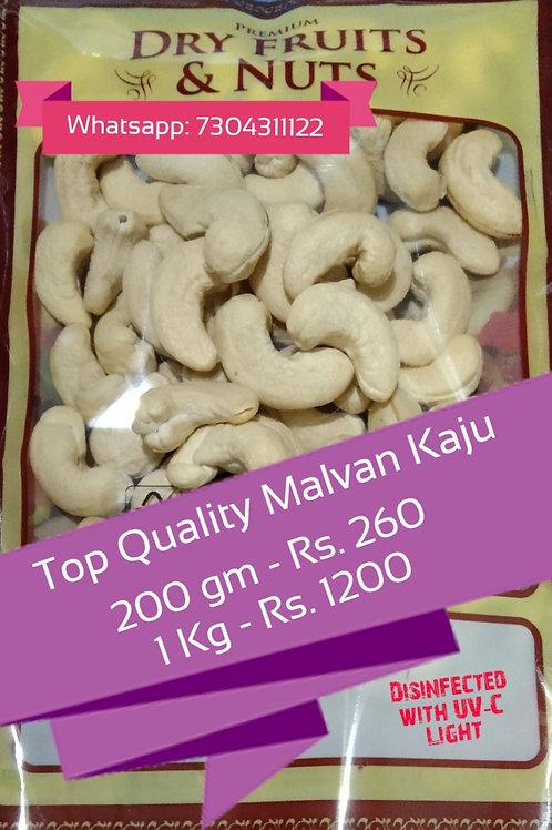 Malvan Top Quality Cashew 200gm