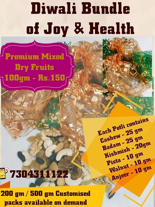 Premium Mixed DryFruits Potli 100 gm