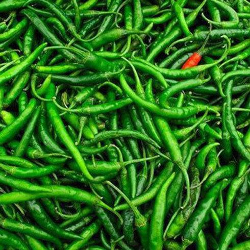 हिरवी मिरची तिखट / Green Chilli Tikha 250gms