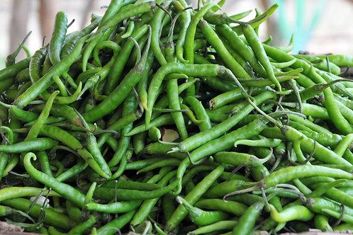 हिरवी मिरची / Green Chili 250gms