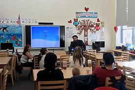 Parent workshop on Mindfulness photo.
