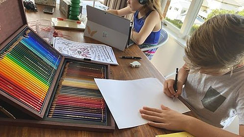 Online art courses for kids