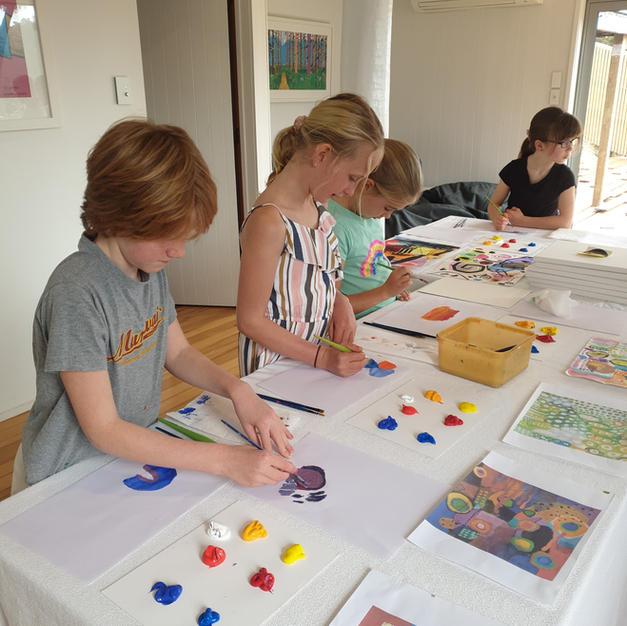 Exploring colour making