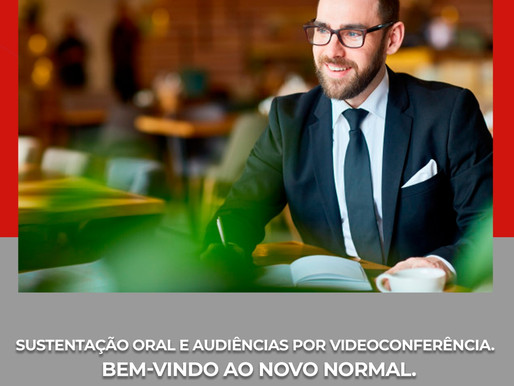 Sustentação oral e audiências por videoconferência