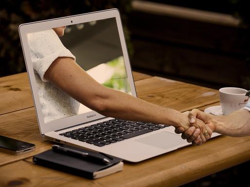 Conte com a videoconferência para criar relações comerciais duradouras