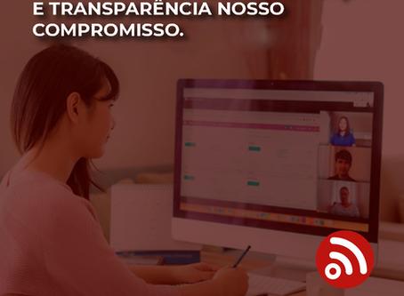 Videoconferência: segurança e transparência nosso compromisso