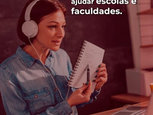 Diante do COVID-19: Tecnologias que ajudarão escolas e faculdades