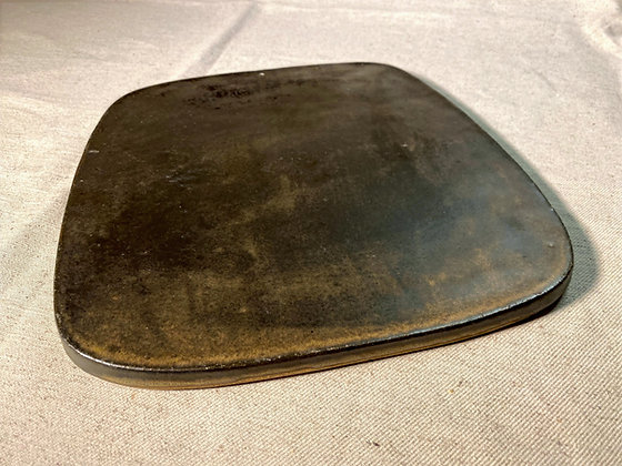 Prato placa de cerâmica