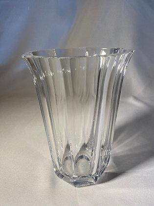 Vaso de cristal trabalhado