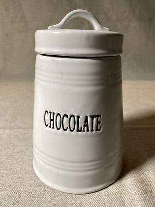 Pote para chocolate