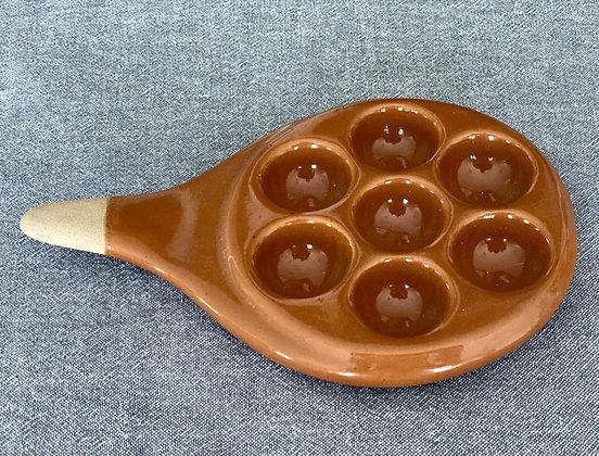 Cerâmica para derreter provolone