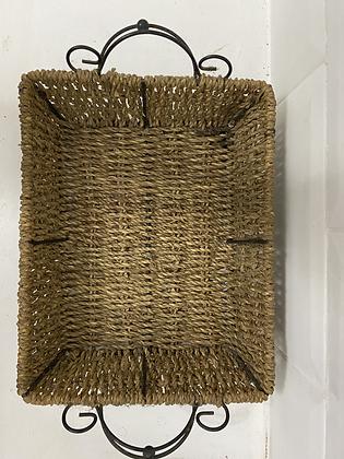 Par de cestos rústicos