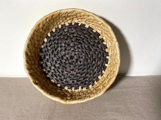 Prato/cesta de palha de milho pequeno (20cm)