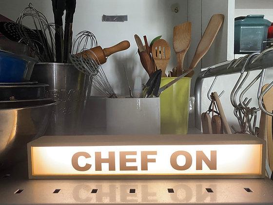 Lâmina extra pequena chef on