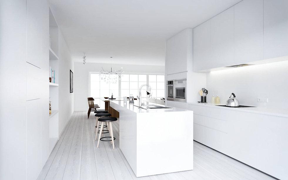 ATDesign-Nordic-style-minimalist-kitchen