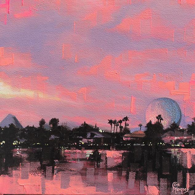 Sunset On Future World