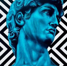 Blue David