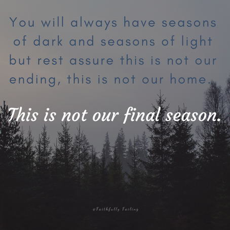 This is not our final season