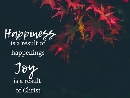 Happiness and Joy Philippians week 1