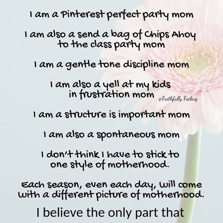 Only one label for motherhood matters.