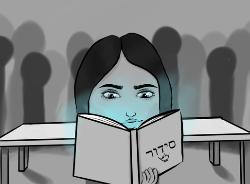 Cartoon: Answering the Call of Prayer