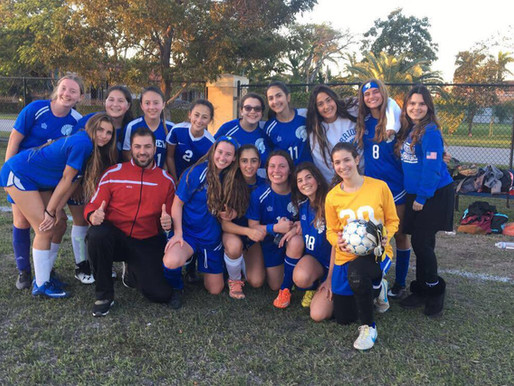 Girls Soccer Team Wins Game For First Time in Hebrew Academy History