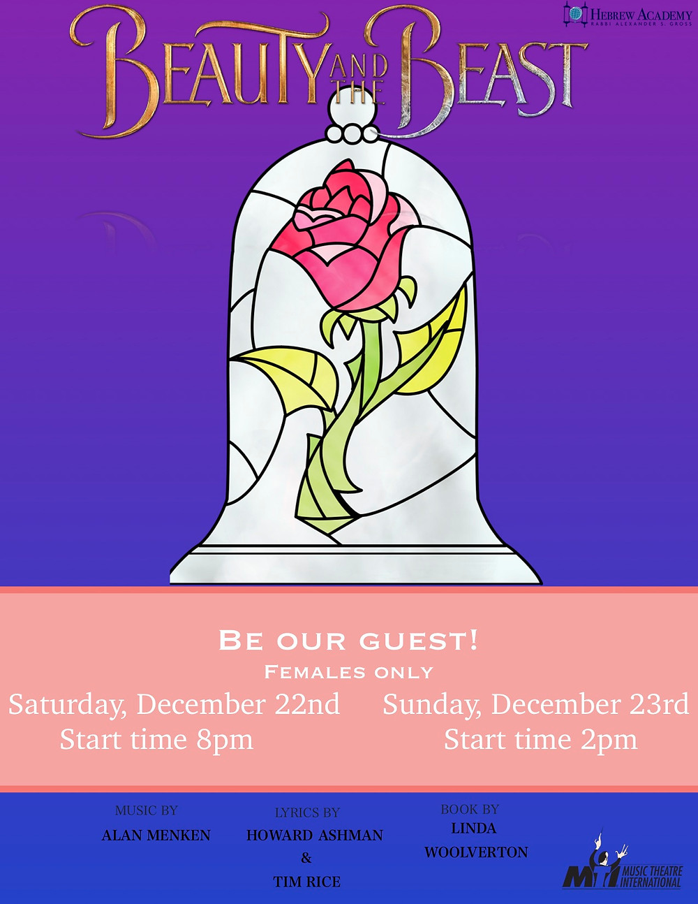 Beauty and The Beast Flyer