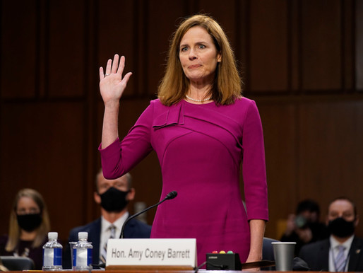 Controversy in Appointing Justice Amy Coney Barret