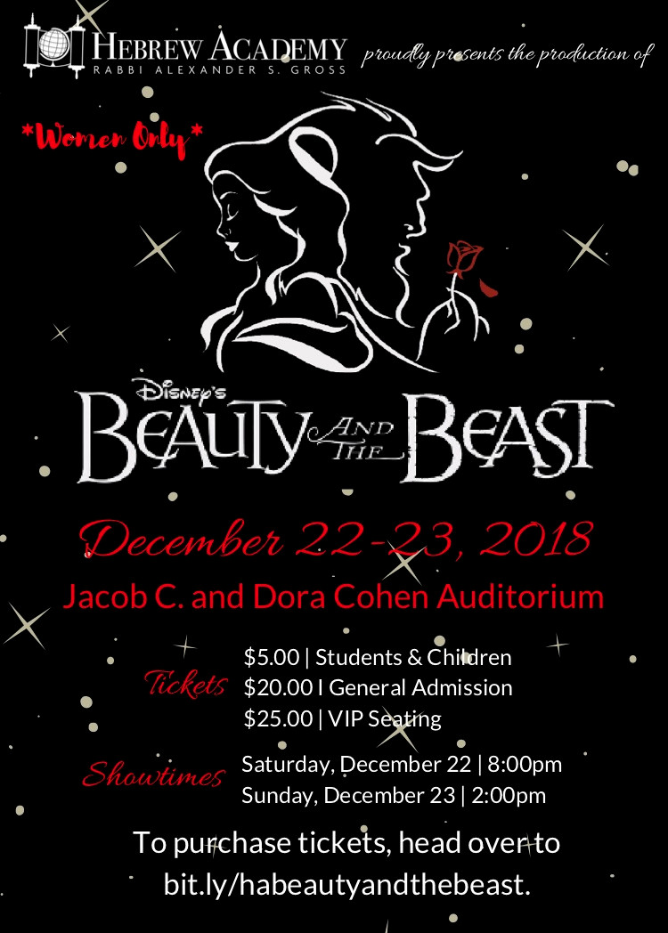 Beauty and the Beast Flyer v2